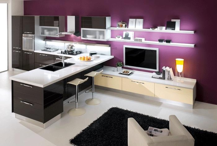 Дизайн кухни ниши студия