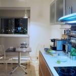 Пример стиля для маленькой кухни