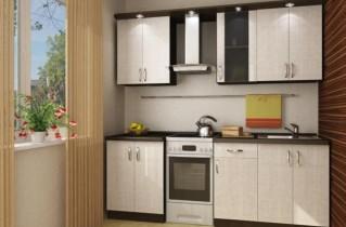 Интерьер маленькой кухни: фото