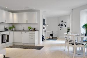 Кухня 20 квадратов, дизайн интерьера