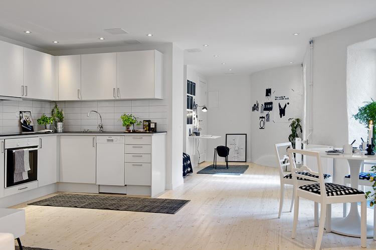красивая кухня студия 20 кв м дизайн фото рекомендации по
