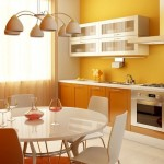 Варианты обоев для кухни
