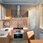 Идеи для создания интерьера маленькой кухни