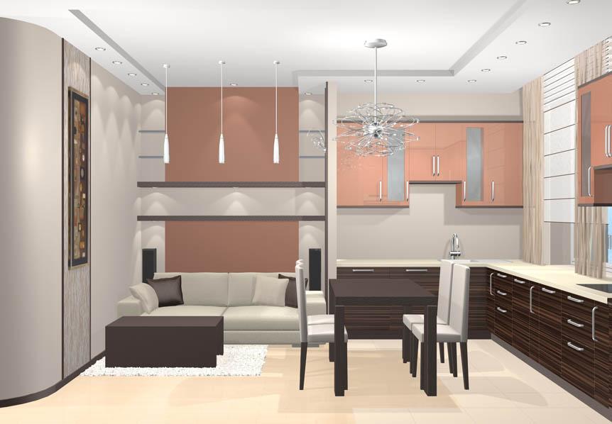 Видео уроки по Дизайн кухни 20 кв.м