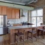 Кухня в стле Лофт