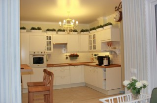 Варианты дизайна кухни 9 кв.м метров с фото и советами