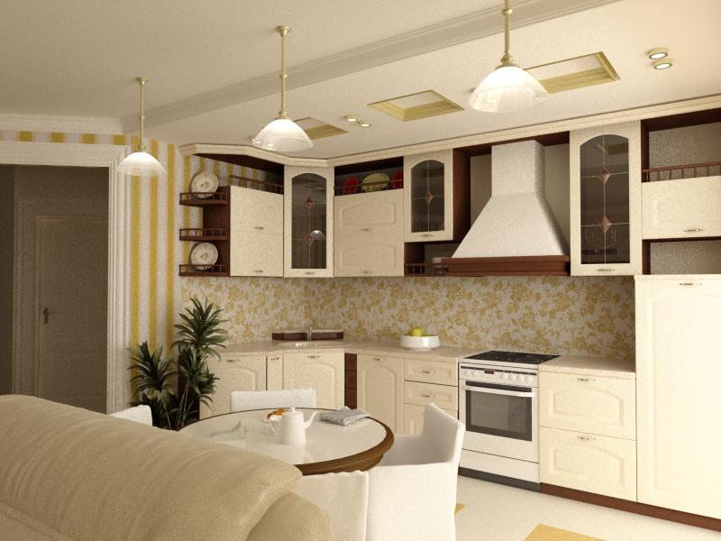 Кухня 20 квадратов дизайн фото