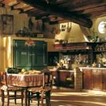 Кухня в деревенском стиле - кантри
