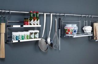 Насколько полезны для кухни рейлинги?