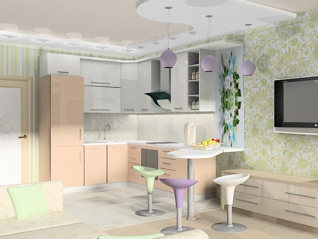 По мере появления новых проектов  квартир студий будут добавляться их фото