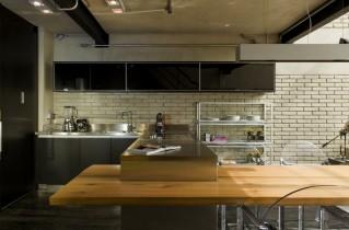 Кухня в стиле лофт – основные признаки