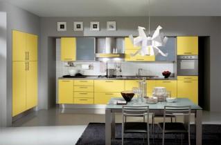 Чем привлекает желтая кухня – фото, сочетания с другими цветами и декоративные элементы