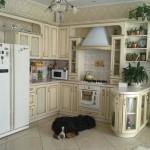 Пример дизайна кухни в стиле прованс