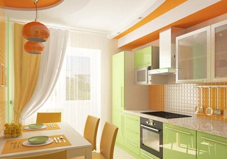 дизайн кухни фото 9 кв фото