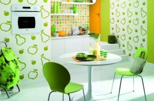 Стоит ли клеить обои на кухне – идеи интерьера, фото интересных вариантов