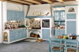 Кухни в стиле прованс – дизайн интерьера