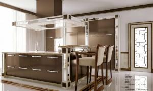 Элементы кухни в стиле Арт Деко