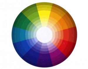 Цветовая палитра для выбора оттенка