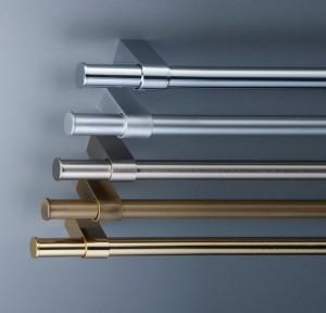 Варианты стальных рейлингов различных цветов