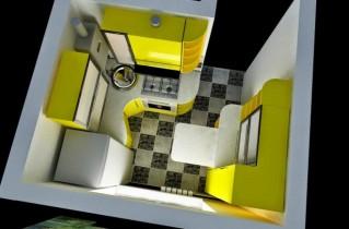 Как может выглядеть маленькая кухня 5 кв. м: дизайн, фото и оригинальные решения с советами