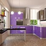 Дизайн современных кухонь из пластика