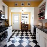 Идеи для пола на кухне