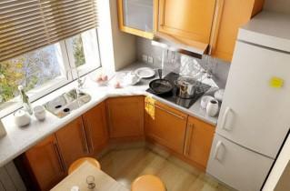 Идеальная планировка кухни 9 метров с холодильником – фото, варианты дизайна и рекомендации