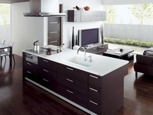 Подбираем дизайн кухни с гостиной