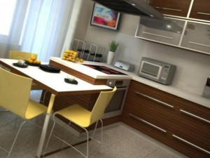 Кухня 9 кв