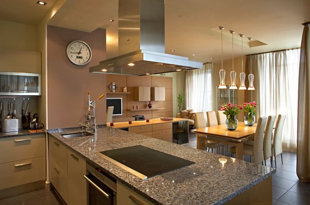 Дизайн кухни гостиной фото в доме