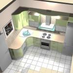Дизайн кухни 10 кв.м