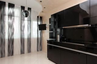 Нитевые шторы для кухни – современно, модно и стильно
