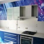 Фотопечать на фасадах кухни