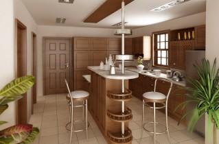 Барная столешница для кухни, изюминка современных кухонь