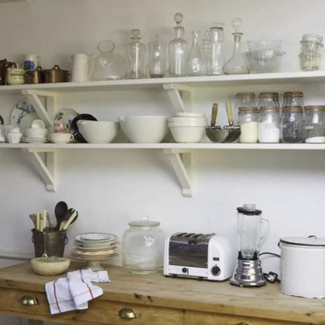 Полки на кухне своими руками фото 28