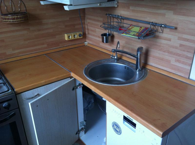 Установка столешница для кухни своими руками