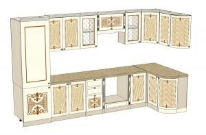 Размер кухонной мебели