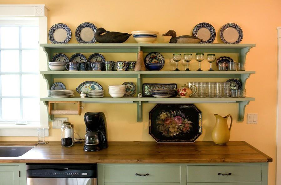 Полочки для кухни своими руками с фото