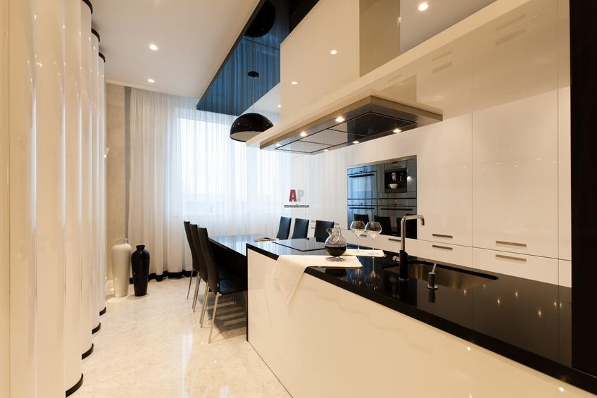 Кухни с темной столешницей дизайн