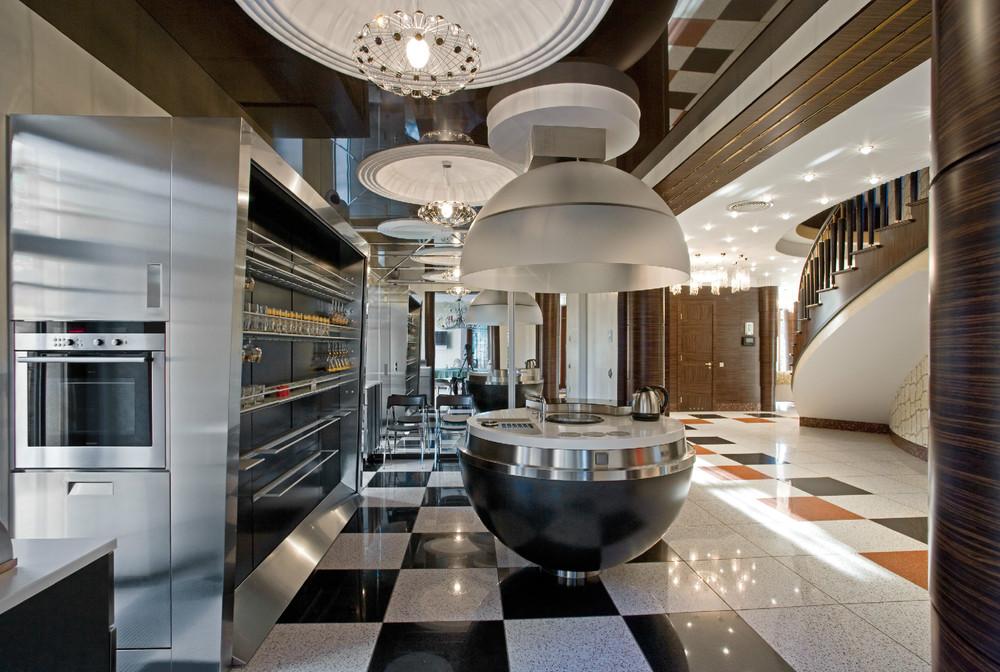 Дизайн эксклюзивной кухни