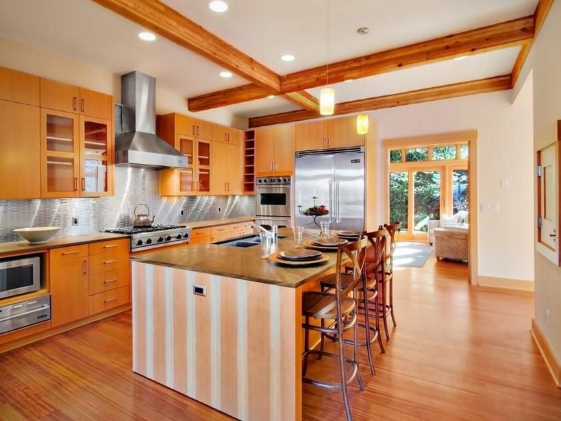 Своими руками дизайн кухни в частном доме 87