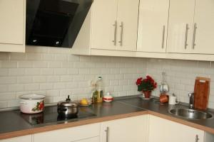 Плитка кабанчик на кухне