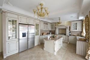 Кухня «классика» с патиной
