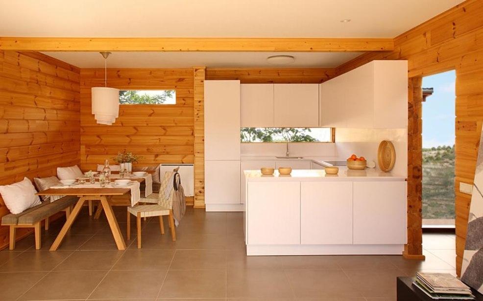 Кухня частного дома своими руками
