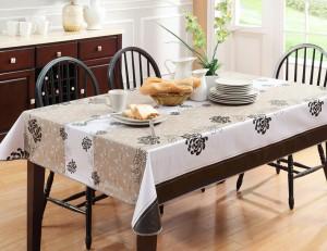 Выбор кухонной скатерти
