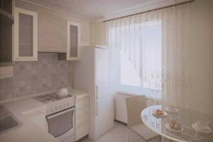 Красивая кухня 10 кв. м.