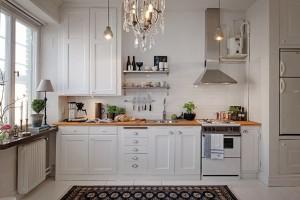 Дизайн кухни с патиной