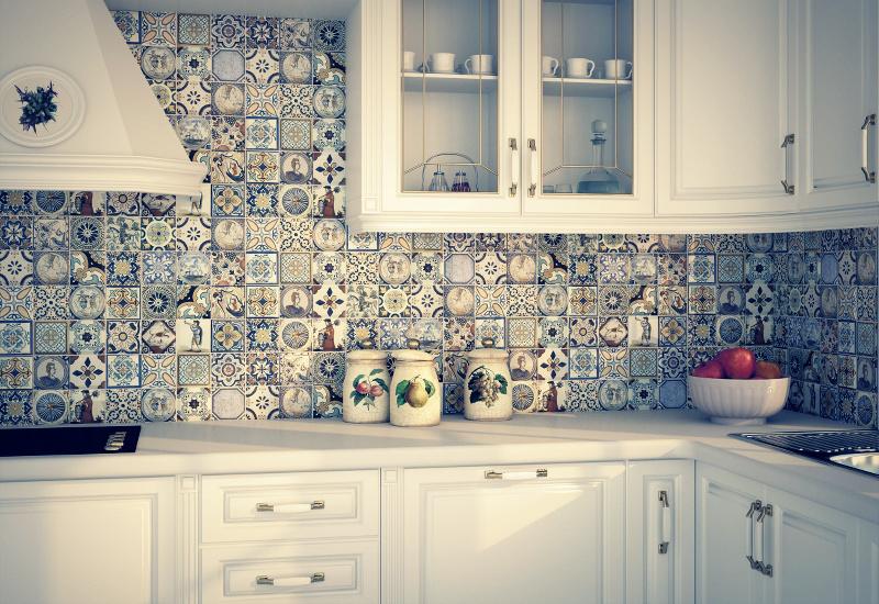Кухонная плитка на стены фото