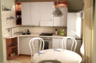 Идеи дизайна кухни 6 кв. м.