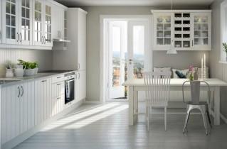 Белая кухня в интерьере: фотоотчет